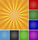 Retro vector background. Stock Image