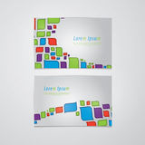 Retro vector banners/cards with space for your content. Fresh el Royalty Free Stock Photos