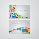 Retro vector banners/cards with space for your content. Fresh el Stock Photography