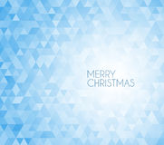 Retro vector Christmas background Stock Photo