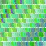 Retro vector groene golfachtergrond Stock Afbeelding