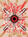 Retro vector illustration Stock Image
