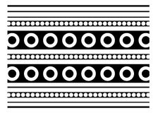 Retro vector ornate background Royalty Free Stock Photography