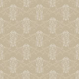 Retro vector pattern from 70s or 80s Stock Photography