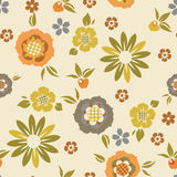 Retro vector pattern Stock Image