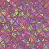Retro vector triangle mosaic tile background Royalty Free Stock Photography