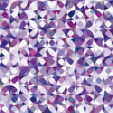 Retro vector violet circle pattern Royalty Free Stock Photo