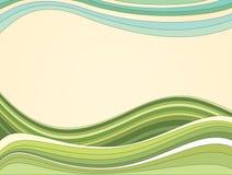 Retro Vectorachtergrond stock illustratie