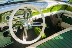 Retro vehicle interior Royalty Free Stock Image