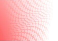 Retro- Vektor des rosafarbenen Klumpens Stockfotografie