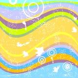 retro vektor för bakgrundsgrunge stock illustrationer