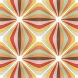 retro vektorwallpaper Royaltyfri Bild