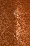 Retro velvet fabric Stock Image
