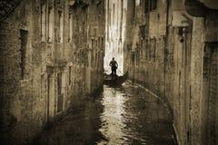 Retro- Venedig stockbild