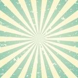 Retro- verblaßter Schmutzhintergrund des Sonnenlichts grüner und beige Farbexplosionshintergrund Auch im corel abgehobenen Betrag vektor abbildung