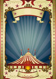 retro överkant för stor cirkusnatt Royaltyfri Foto