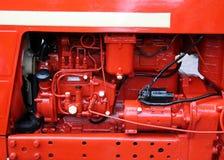 Retro vermelho Imagem de Stock