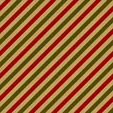 Retro verpakkend document voor Kerstmisgift Stock Foto's