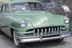 Retro versie van autodesoto 1951 Royalty-vrije Stock Foto's