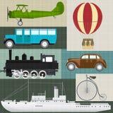 Retro vervoer Royalty-vrije Stock Afbeeldingen