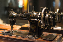 Retro Vesta Sewing Machine Stock Photos