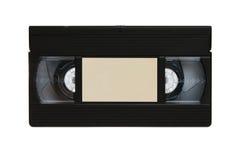 Retro- VHS-videokassette stockbilder