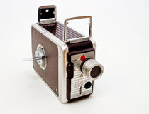 Retro Video Camera Royalty Free Stock Image