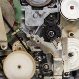 Retro video cassette recorder mechanism Stock Image