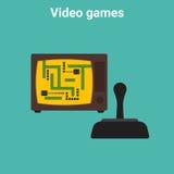 Retro video game Stock Image