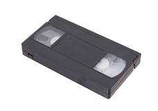 Retro videoband op een witte achtergrond wordt geïsoleerd die Stock Fotografie