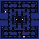 Retro videospelletjevierkant vector illustratie