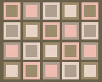 Retro vierkantenachtergrond Stock Fotografie