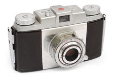Retro viewfinder camera Royalty Free Stock Photo