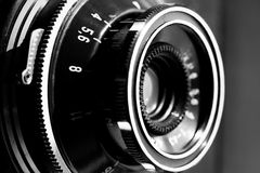 Retro viewfinder camera Royalty Free Stock Images
