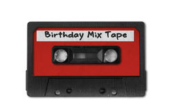Retro Vintage Audio Cassette Tape. Old Retro Vintage Audio Cassette Tape Add Your Text royalty free stock photo
