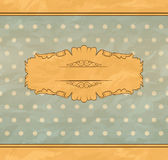 Retro vintage background Stock Photo