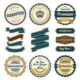 Retro Vintage Badge, Label and Banner Set. Vector Illustration EPS-10 Vector Illustration