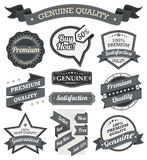 Retro Vintage Badge, Label and Banner Set Stock Image