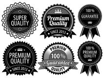 Retro Vintage Badges Royalty Free Stock Photo