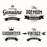 Retro vintage badges and labels Royalty Free Stock Images