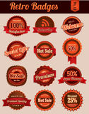 Retro Vintage Badges. Retro badges series, suitable for your design element or other Royalty Free Stock Images