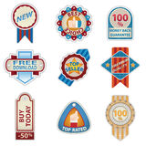 Retro Vintage Badges set Royalty Free Stock Photo
