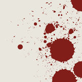Retro vintage bloody grunge splash. Abstract background Royalty Free Stock Images