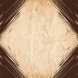 Retro vintage border on the old paper background Royalty Free Stock Images