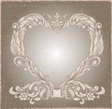 Retro vintage emblem. Royalty Free Stock Image