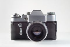 Retro vintage film camera stock photography
