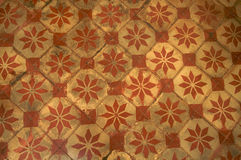 Retro vintage floor tiles Royalty Free Stock Image