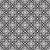 Seamless geometric flower design pattern Royalty Free Stock Images