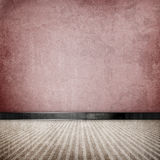 Retro vintage grunge empty room Royalty Free Stock Image