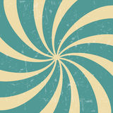 Retro vintage grunge hypnotic background. Royalty Free Stock Photo